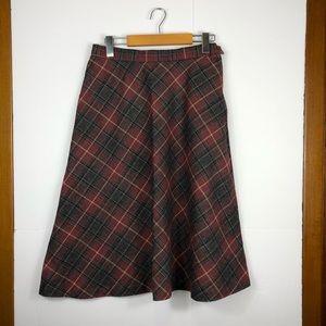 Vintage Koret wool a-line skirt Sz 12